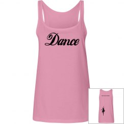 dance tank-pink