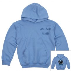 Blue Youth Pullover Hoodie