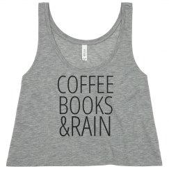 Coffee Books Rain Tank