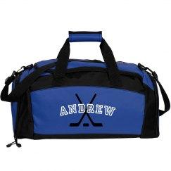 Andrew hockey duffel bag