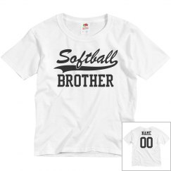 Custom Softball Brother Fan