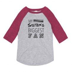 Softball Sister's Fan