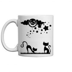 Midnight cats mug