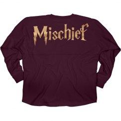 Golden Metallic Mischief Jersey