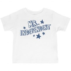 Mr. Independence Day Toddler Tee