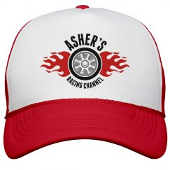 Asher's Racing Channel logo hat