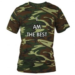 I AM THE BEST CAMO