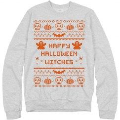 Halloween Ugly Sweatshirt