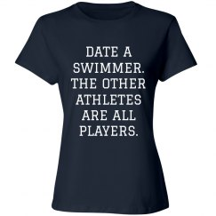 Funny Date A Swimmer Design