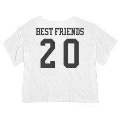 Best Friends Custom Date Crop