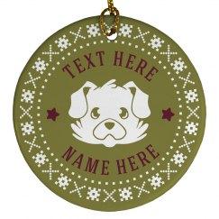 Custom Holiday Dog Pet Gift