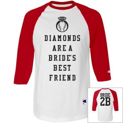 Baseball Bachelorette Party Word Play Shirt