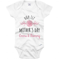 Our First Mother's Day Custom Name