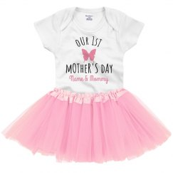 Our 1st Mother's Day Tutu Onesie