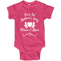 Our 1st Mother's Day Custom Gift
