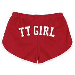 TT Girls running shorts