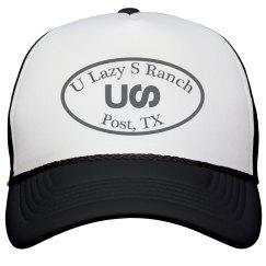 U Lazy S Circle Snapback Trucker Cap
