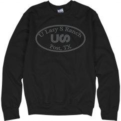 U Lazy S Circle Hanes UNISEX Ultimate Sweatshirt