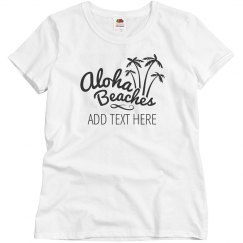 Custom Aloha Beaches Vacation