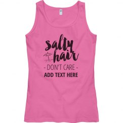 Custom Salty Hair Beach Vactation