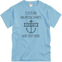 Custom Anchor Vacation Design