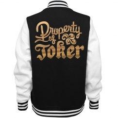 Golden Metallic Property Of Joker Jacket