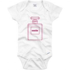 Cutie Perfume Onesie
