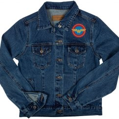 Wonder Woman Emblem Denim Jacket