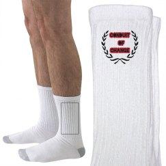 COC Socks w/Crest graphic