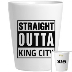 EBIP KING CITY SHOT GLASS