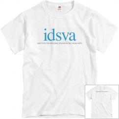 IDSVA Gray T-Shirt with full logo