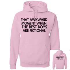 THAT AWKWARD MOMENT pink hoodie