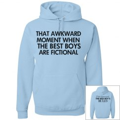 THAT AWKWARD MOMENT blue hoodie