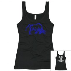 Fitted Black Tank