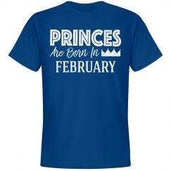 Princes are born February