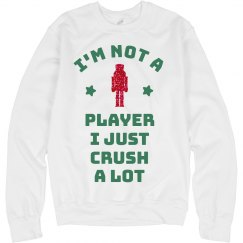 Not A Player Crush A Lot Glitter