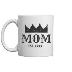 Queen Mother's Day Custom Mug