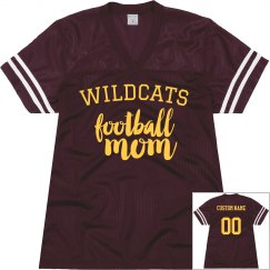 Custom Football Mom Jersey