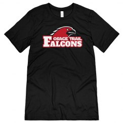 Falcons Black Short Sleeve