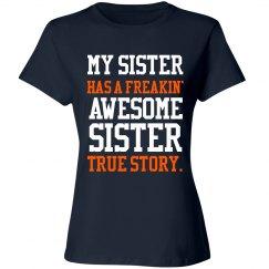 My sister..