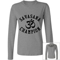 Long Sleeved Savasana Champ Tee