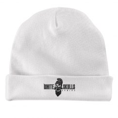 White Skulls Gaming baby Hat