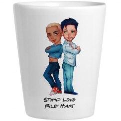 Stupid Love Shot Glass