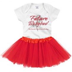 Future Babybud onesie and tutu combo