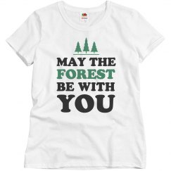 Cute May The Forest Be With You