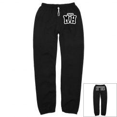 MOHITZ HOODIE SWEAT PANTS MATCH (BLACK)
