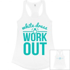 White Wedding Tank