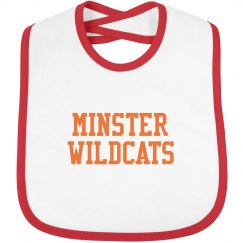 minster wildcats bib