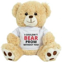 Prom Bear Promposal Pun