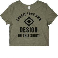 Custom Design Trendy Crop Top
